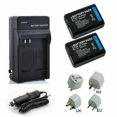 $ CDN18.63 • Buy New Sony NP-FW50 Li-Ion Battery / Rapid Charger For Sony A6000 A3000 A5000 A6300
