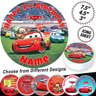 Cars Lightning McQueen Cake Topper • 5.99£
