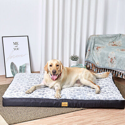 AU49.97 • Buy XXXL XXL XL Anti-Skid Soft Pet Bed Mattress Dog Cat Mat Cushion Pad Waterproof