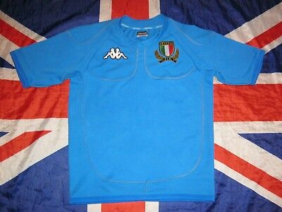 157e350cf0 Italy Italia Rugby Shirt Jersey Kappa Size L • 29.99$