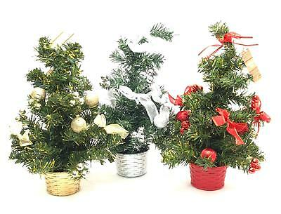 Mini Christmas Tree Xmas Decoration Small Table Top Decor Home Artificial Gift  • 3.49£
