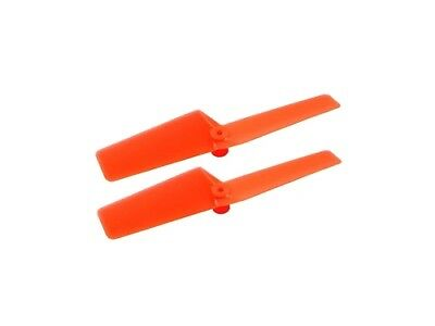 New Plastic Tail Blade 42mm (ORANGE) For Blade NANO CPX MH-NCPX030OR • 3.09£