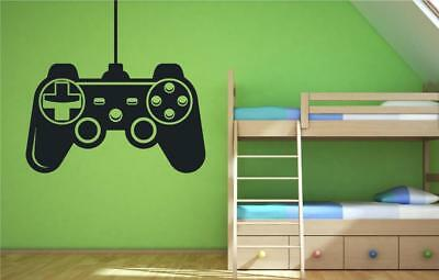 Control Pad Games Console Computer Wall Art Sticker Decal Transfer Mural P5M • 8.99£
