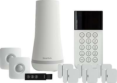 View Details SimpliSafe - Shield Home Security System - White • $