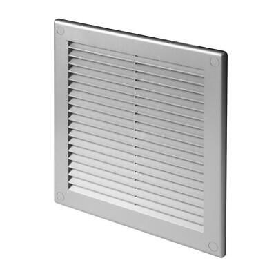 £7.49 • Buy Satin Air Vent Grille 300mm X 300mm Grey Wall Ventilation Cover TRU10SS