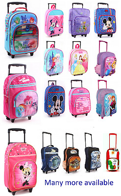 £29.99 • Buy NEW CHILDREN'S DISNEY& AND CHARACTER WHEELED TROLLEY BAG SUITCASES Kids Travel