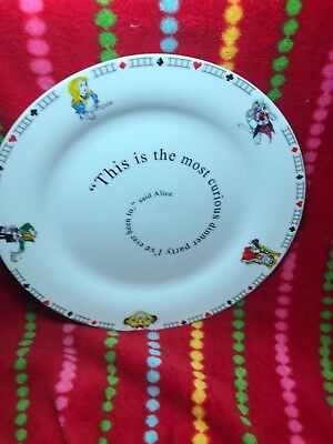 Alice In Wonderland Plate Cardew Compare Prices On Dealsancom