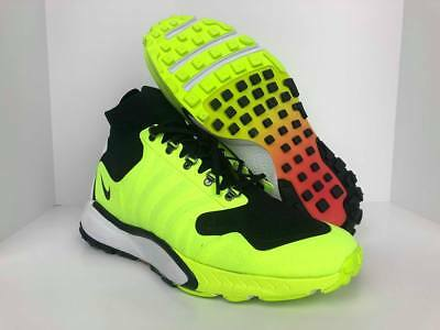 separation shoes 13d8b fef11 Nike Men s Zoom Talaria Mid FK Lab Volt Black White 856955-007 • 60.00
