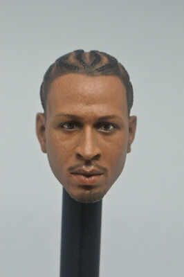 $18.99 • Buy HOT FIGURE TOYS 1/6 Scale  Allen Iverson Enterbay  Head  Headplay Custom  B
