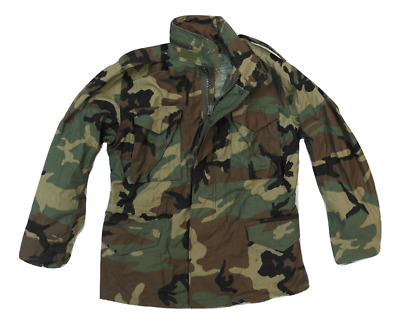 a582ccc8ee4 NEW GI Military M-65 Field Jacket Cold Weather Coat Woodland Camo