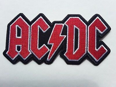 £3.09 • Buy Ac/dc Australian Heavy Metal Rock Music Band Embroidered Quality Patch Uk Seller