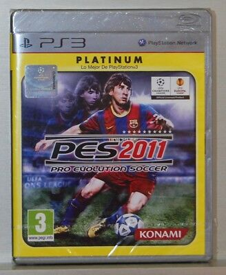 AU38.19 • Buy Pro Evolution Soccer 2011 - Playstation 3 - Cd Physical - Pal Spain - New