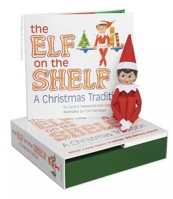 AU54.17 • Buy NEW Elf On The Shelf Blue Eyed Girl Scout Elf : A Christmas Tradition FREE SHIP