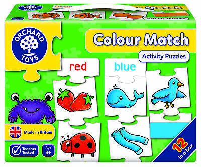 £9.95 • Buy Orchard Toys Colour Match Jigsaw Game