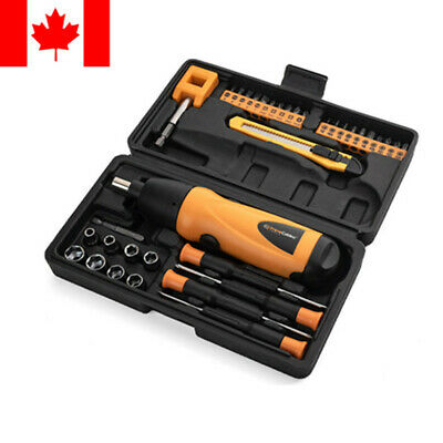 View Details PrimeCables® 37in1 Portable Cordless Electric Screwdriver Drill 6V Battery Power • 14.99$ CDN