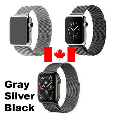 $ CDN14.99 • Buy Magnetic Milanese Loop Band IWatch Strap For Apple Watch Sport Stainless Steel