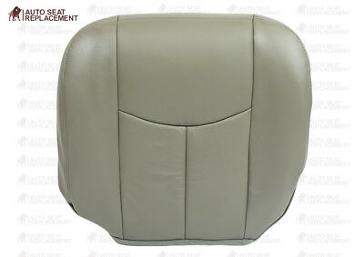 $103.19 • Buy 2003 2004 2005 2006 Chevy Silverado 2500 HD Duramax Leather Seat Cover GRAY
