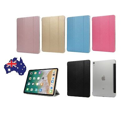 AU17.65 • Buy IPad PRO 11 And 12.9 (3rd Gen) 2018 - 3 FOLD Case Cover With Tri-Fold Stand AUS