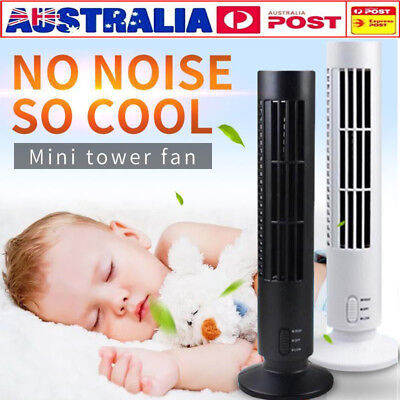 AU13.99 • Buy 2019 Mini Portable USB Cooling Air Conditioner Purifier Tower Bladeless Desk Fan