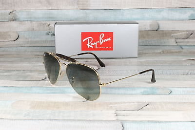 8ec8e4c4a1 RayBan RB3029-181 71 OUTDOORSMAN II GOLD Light Grey Grey 62 Mm Men s  Sunglasses