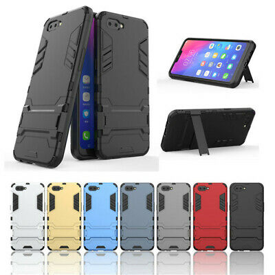 AU6.99 • Buy OPPO AX5 A3S A73 F5 A57 A39 Case Shockproof Robot Heavy Duty 2 In 1 Shell Cover