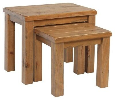Nest Of Tables, Pine, Rustic, NEW & FULLY ASSEMBLED • 99£