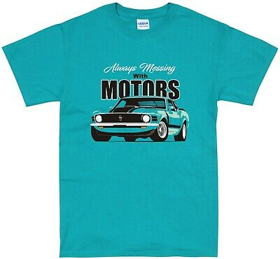£14.99 • Buy Ford Mustang Accessories T Shirt Classic American Muscle Car Apparel