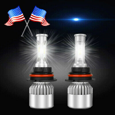 $18.95 • Buy FOR 99-04 Ford Mustang PAIR Led HEADLIGHT BULBS US COMBO