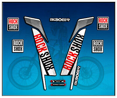 $13.37 • Buy Adesivi Stickers Forcella Rock Shox Boxxer World Cup AM78 Aufkleber Decals