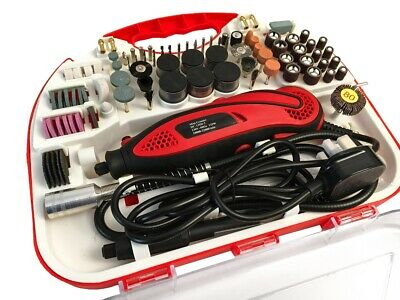 £30.99 • Buy 210 Pcs Hobby Craft Mini Drill Grinder Multi Rotary Tool Set Modeling Electric