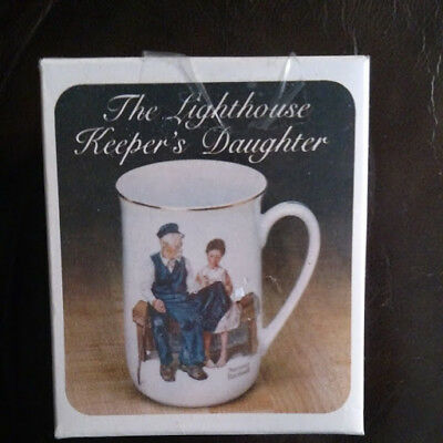 $ CDN9.99 • Buy Norman Rockwell Collector's Cup Mug The Lighthouse Keeper's Daughter Vintage