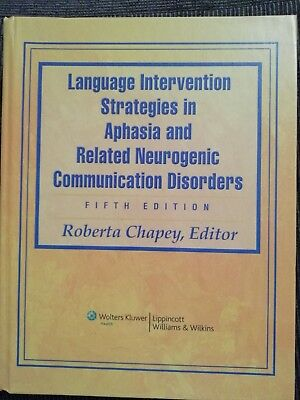 £60 • Buy Language Intervention Strategies In Aphasia And Related Neurogenic Communicati..