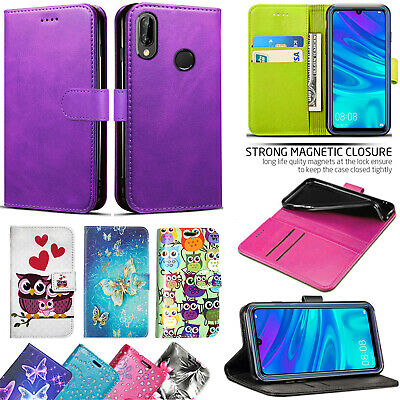 For Huawei Honor 10 Lite New Stylish PU Leather Wallet Flip Stand Case Cover • 3.99£
