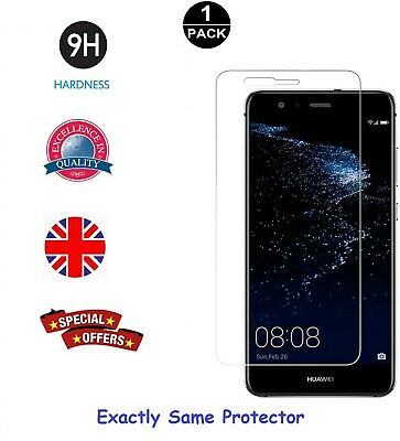 For Huawei P10 Lite Tempered Glass Screen Protector Premium Protection • 1.20£