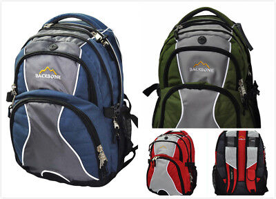 AU19.99 • Buy New Laptop Travel Outdoor Backpack School Bag Daypack - Blue / Green / Red