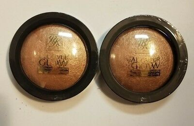 Ruby Kisses All Over Glow Bronzing Powder 2 Pack For Face Body Bronze Glow Abp03 • 7.50£