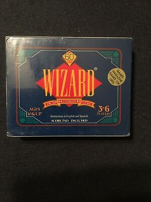 Wizard Ultimate Trump Card Game New English And Spanish  • 7.95$