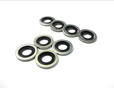 £4.74 • Buy Dowty Seal Bonded Washer. M8. Pack Of 8. Water, Oil, Fuel Resistant *Top Quality
