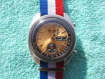 $ CDN481.35 • Buy Vintage Seiko 6139-6012 Automatic Men's Wrist Watch Japan Made Day/date Perfect