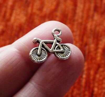 £3.06 • Buy 5pcs Bicycle Sport Charms For Bracelet Mountain Bike Racing Necklace Pendants