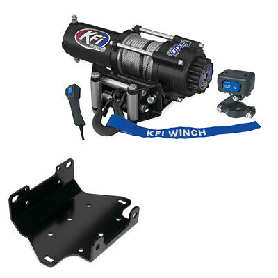 AU405.02 • Buy 3000 Lb KFI Winch Combo Yamaha Grizzly 700 2007-2015 Grizzly 550 2009-2014 NEW