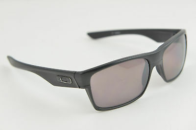 19647ceab98 OAKLEY TWOFACE OO9189-26 Black Grey PRIZM POLARIZED 60-16-137 Sunglasses