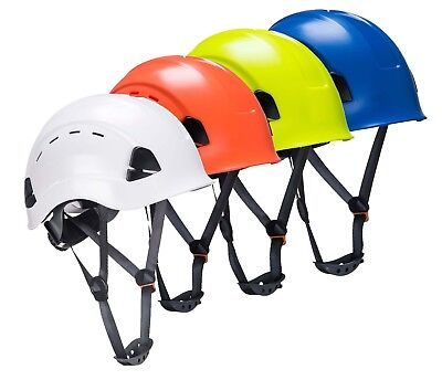 PORTWEST Height Endurance Vented Helmet Safety Hard Hat Lightweight ABS PS63 • 16.79£
