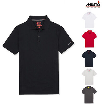 Musto Evolution Sunblock Polo Shirt EMPS00012 - Short Sleeve Casual T-Shirt • 61.09£