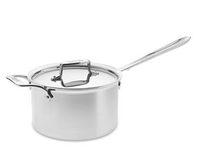$ CDN634.35 • Buy All-Clad D55204 D5 Polished Stainless Steel 5-Ply 4-qt Sauce Pan W/Lid
