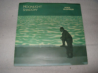 Mike Oldfield - Moonlight Shadow 7  Picture Sleeve Single • 5£