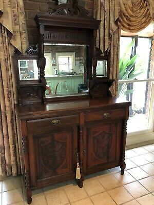 AU550 • Buy Edwardian Sideboard, Mahogany, Great Condition For Age