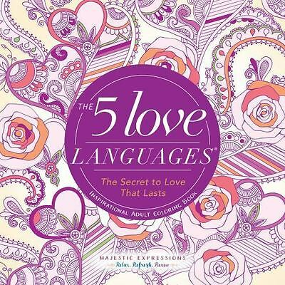$ CDN24.70 • Buy 5 Love Languages : The Secret To Love That Lasts Inspirational Adult Coloring...