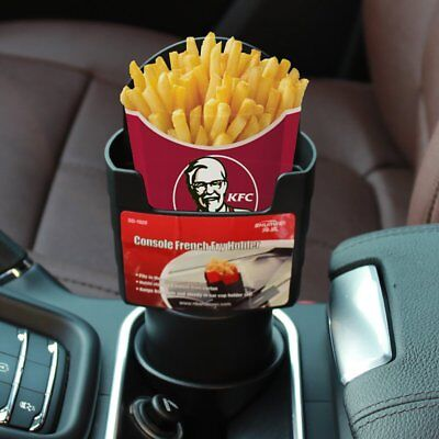 $12.99 • Buy Automotive Car Cup French Fry Holder Fast Food Drink Beverage Cell Phone Mount