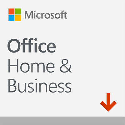 AU339 • Buy MS Office Home & Business 2019 PC Download, Word Excel Outlook PowePoint